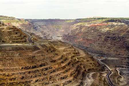 Career of Poltava Mining and Processing Plant. One of the largest quarries in the world. The largest in Ukraine producer and exporter of iron ore pellets used in ferrous metallurgy and steel production.