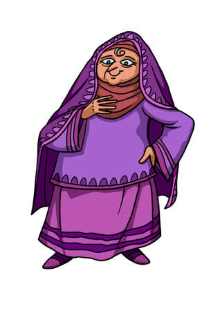 Elizabeth, the Wife of Priest Zacharias, miraculously became pregnant in old age and became the Mother of John the Baptist.