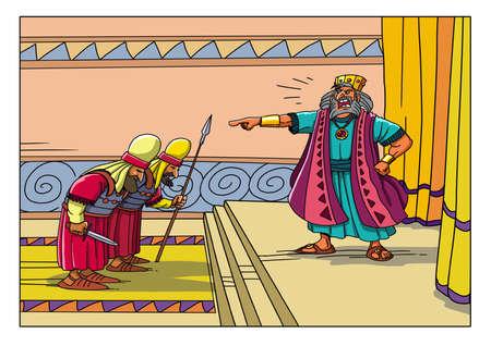 헤롯 왕은 베들레헴에있는 모든 아기들을 죽이라는 명령을했습니다.