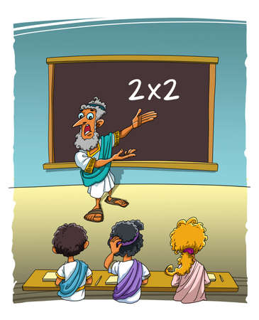The Ancient Greek Teacher asks the students an easy task and everyone dont knows the correct answer