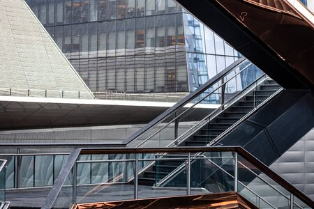 Fragment of the Vessel at Hudson Yards located on Manhattan's West side - Image