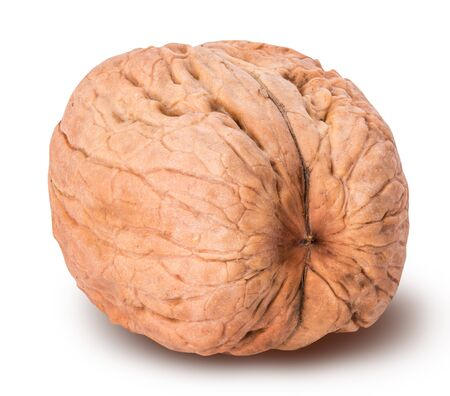 walnut isolated on white background with clipping path