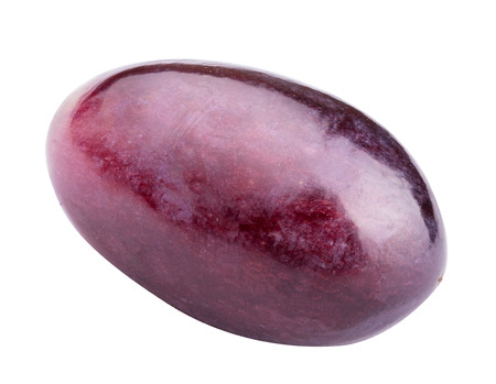 Grape berry isolated on white background. Clipping path Banque d'images