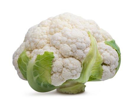 Cauliflower isolated on white background Imagens