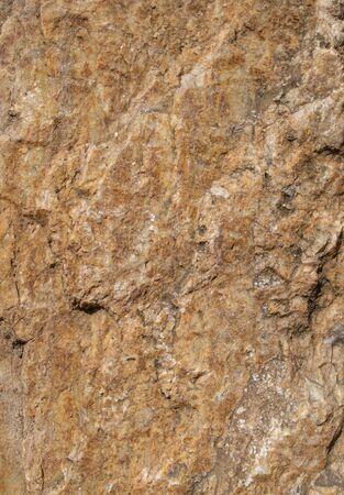 Texture of brown natural sandstone