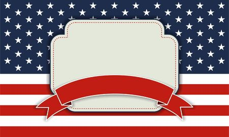 memorial day: 4th of July independence day background, July 4th, Memorial Day, Independence day, Easy to edit  Perfect for invitations or announcements  Illustration