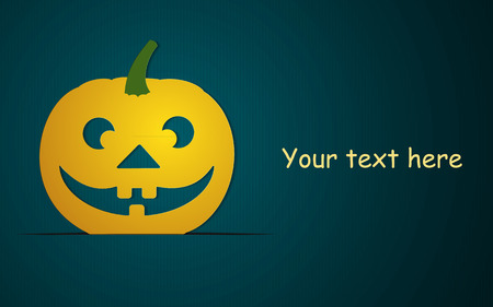 clouds scape: Halloween day Vector Templates. Perfect for invitations or announcements. Illustration