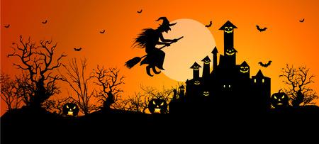 calabazas de halloween: Antecedentes para las celebraciones de Halloween.