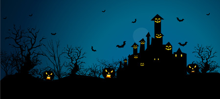 sky night: Background for Halloween celebrations.