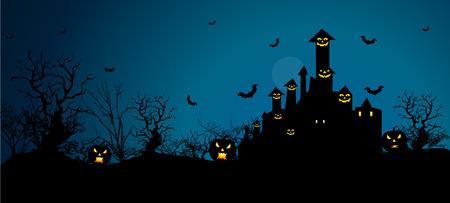 nacht: Hintergrund für Halloween feiern.