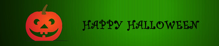 Vector BannerHeader Design for Halloween Celebrations