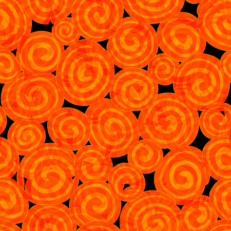 Seamless Vector Background Pattern Texture for Halloween and other uses