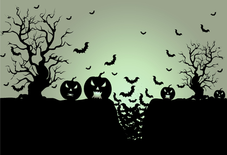 clouds scape: Background for Halloween celebrations.