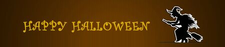 Vector BannerHeader Ontwerp voor Halloween Celebrations