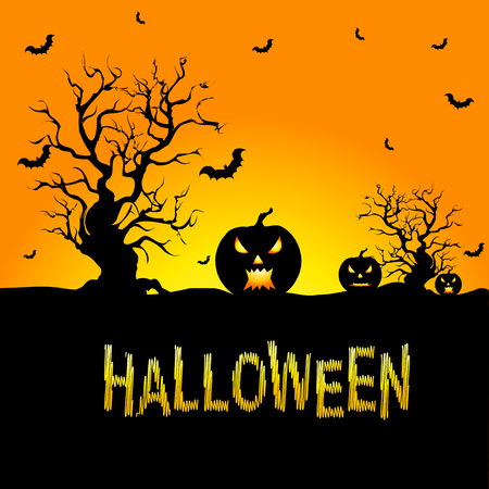 halloween background: Background for Halloween celebrations.