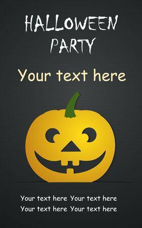 Halloween dag Vector Templates. Perfect voor uitnodigingen of aankondigingen.
