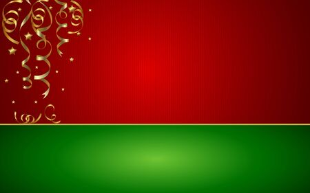 Christmas Background - Vector Illustration. EPS 10. Easy to edit. Perfect for invitations or announcements.
