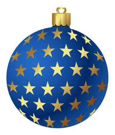 Vector Kerst ornamenten Stock Illustratie