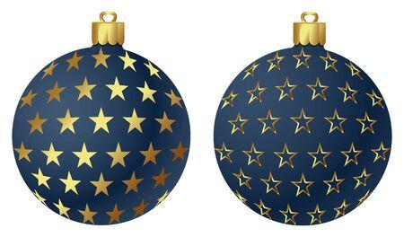 ベクトルのクリスマス飾り