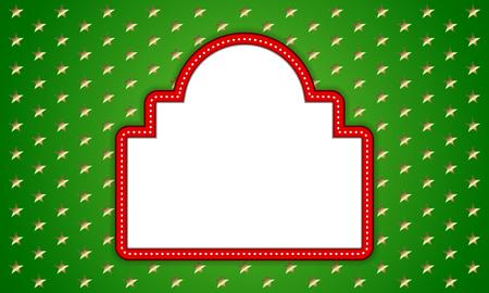 クリスマスの背景 - ベクトルの図。EPS 10。簡単に編集します。招待状やお知らせに最適です。  イラスト・ベクター素材