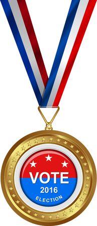 Award  Medaille voor de presidentiële Verkiezing