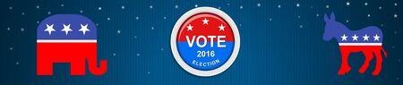 Amerikaanse presidentsverkiezingen 2016