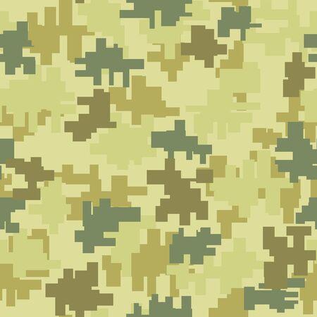 Digital / Modern camouflage seamless pattern Foto de archivo