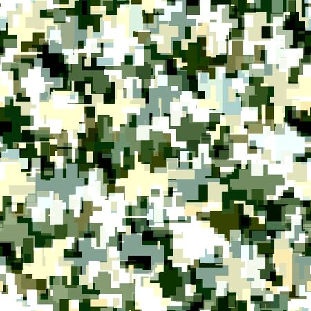 Digital / Modern camouflage seamless pattern