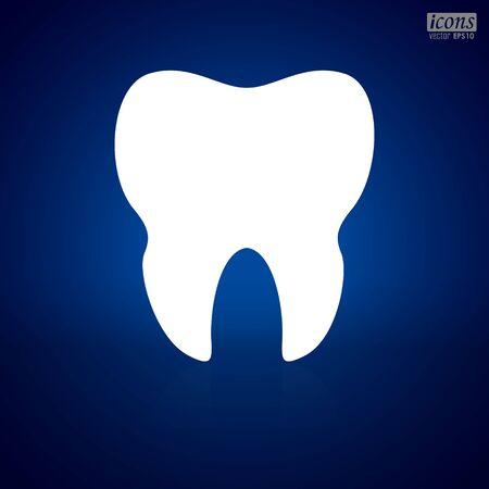 Human Teeth icon vector illustration