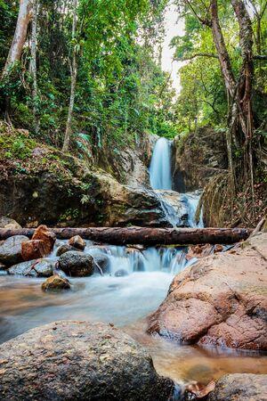 yala: waterfall betong yala thailand