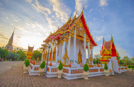 Wat,Phuket Thailand Stock Photo