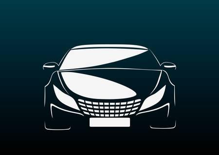 modificar: Auto en la oscuridad