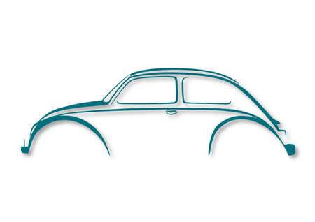 Sweet car Illustration
