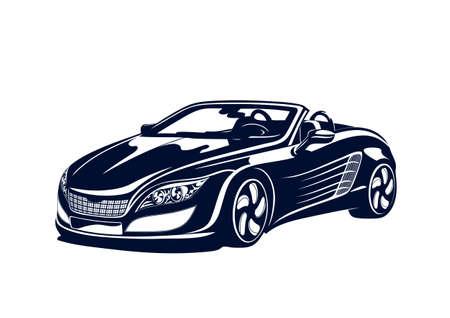 Sport automobile Stock Vector - 18195680