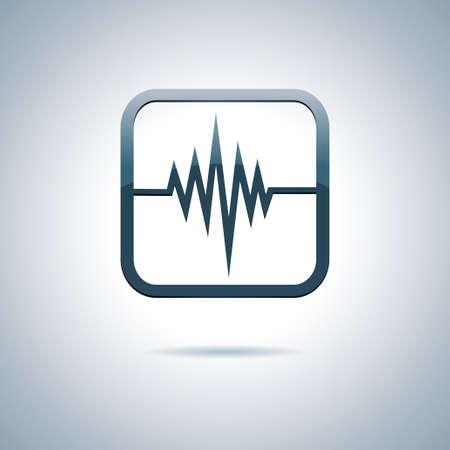 Coraz�n y salud icono