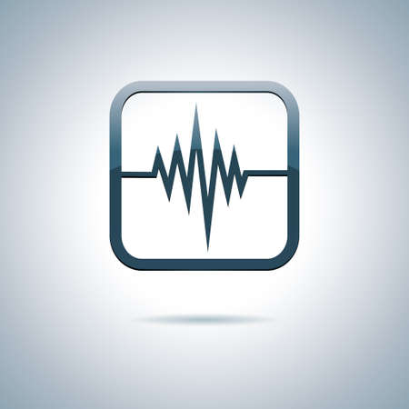 Heart and health icon Vector