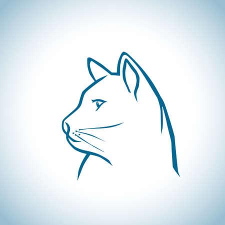 famille malheureuse: Petit chat