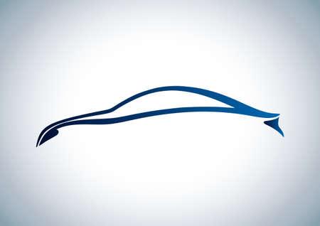 wijzigen: Logo van de auto Stock Illustratie