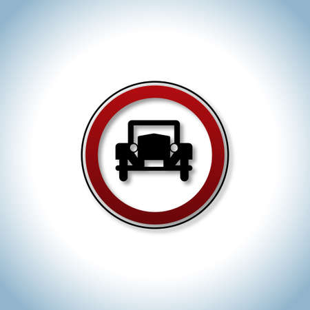 Traffic and auto icon Stock Vector - 18488183