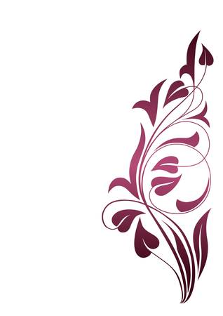 Ornamental pattern background Illustration