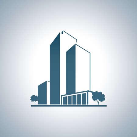 condo: Blue apartments