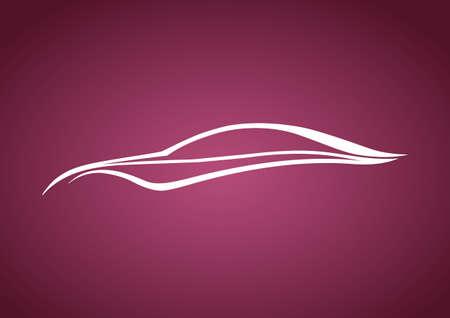 speedy: White speedy auto over pink