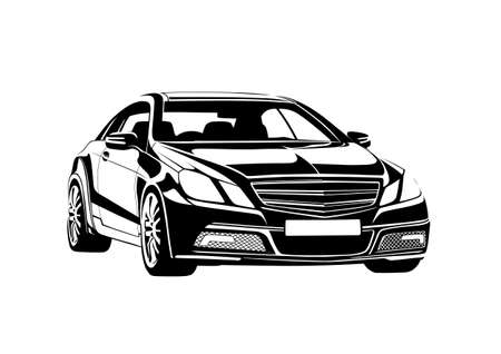 Black automobile