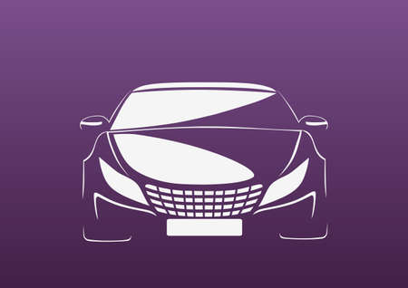 repair shop: Auto in purple