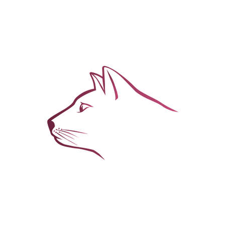 horse like: Pink cat head