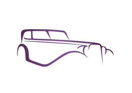 Purple antique