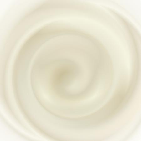 Milk cream texture