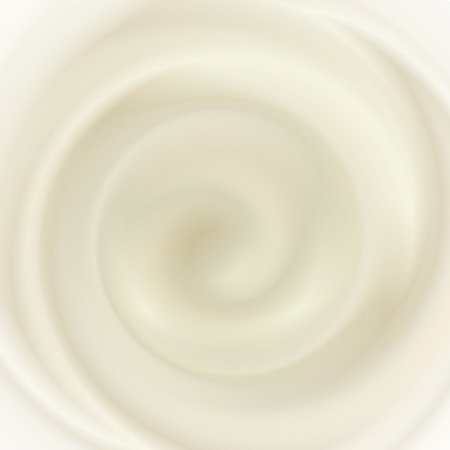 whirlpools: Milk cream texture