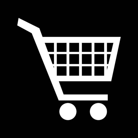 purchases: Shopping cart icons for online purchases- vector