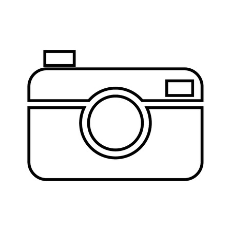 whim of fashion: Digital line icon. Vector illustration on white background